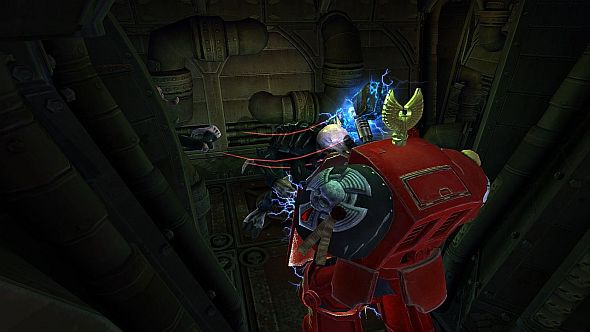 Space Hulk: After the attack animation, these three red lines basically indicate I am about to die
