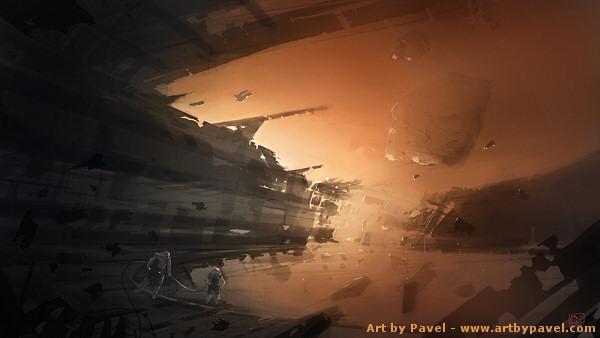 Abandoned Space Station - artbypavel.com