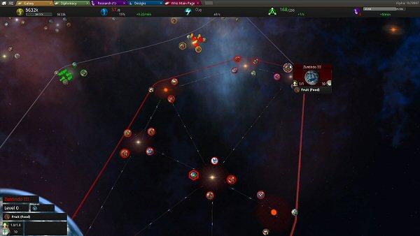 Star Ruler 2 (Alpha) | Starmap