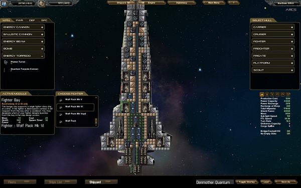 StarDrive | Open beta - Ship design