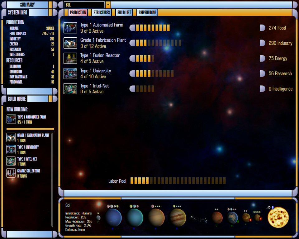 Star Trek Supremacy: System Management