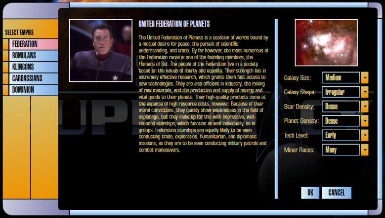 Star Trek Supremacy: Game Setup