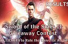 Sword of the Stars 2: Giveaway Contest – Results