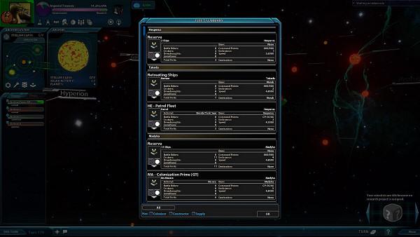 Sword of the Stars 2: Enhanced Edition - Fleet Manager