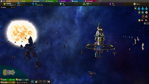 Star Ruler 2: Wake of the Heralds | A real-time (pausable) Space 4X strategy game by Blind Mind Studios