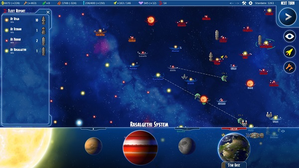 Stars in Shadow | A turn-based Space 4X Strategy Game by Ashdar Games and Iceberg Interactive