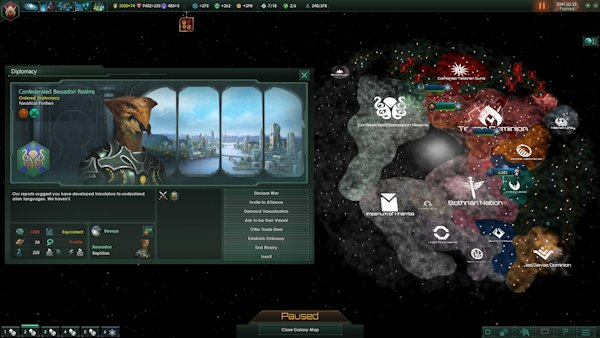 Stellaris | Great! My first game and I get stuck with a Dalek wannabe.
