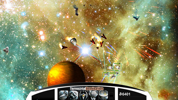 Terrestrial Domination | Real-Time Space Strategy Game
