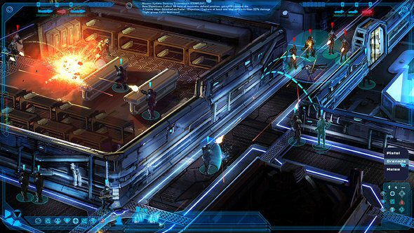 The Mandate - Isometric boarding operations view - Concept work