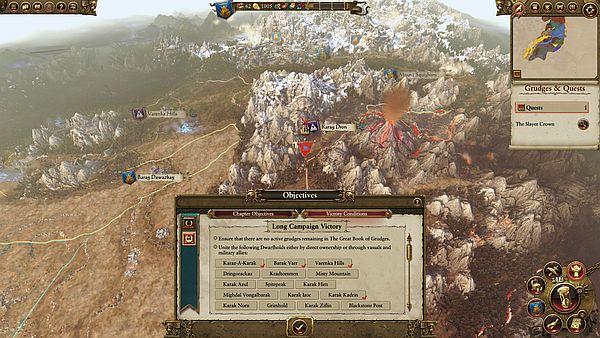 Total War: WARHAMMER - A Dwarf's work is never done