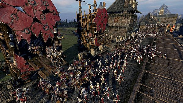 Total War: WARHAMMER - There's plenty of room for everybody up on the walls