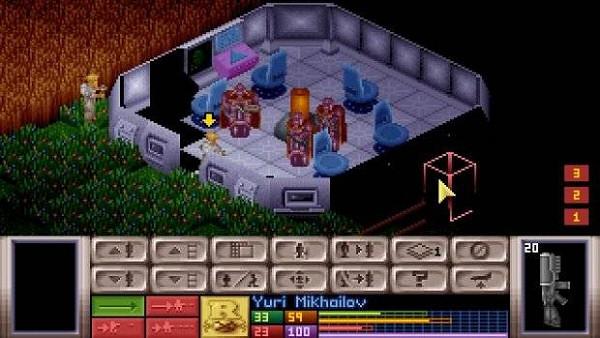 X-COM: UFO Defense (aka UFO: Enemy Unknown)   Tactical gameplay