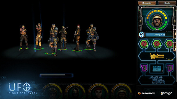 UFO Online: Fight for Earth - Squad management
