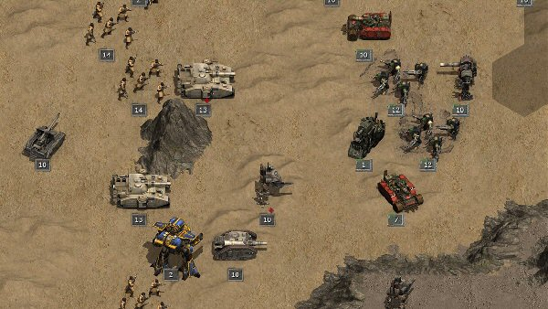Warhammer 40K: Armageddon | Turn-based science-fantasy strategy game