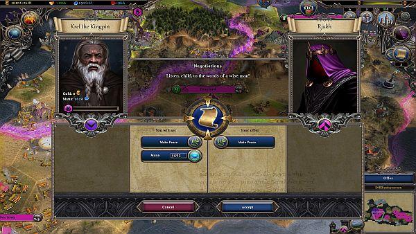 Warlock 2 AI Diplomacy