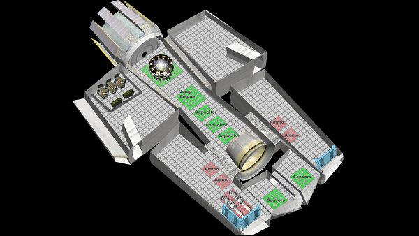 Worlds Collide   Modular ship design concept