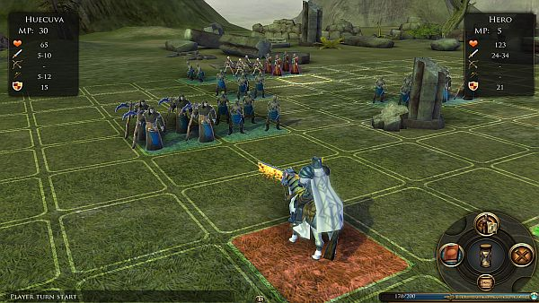 Worlds of Magic - New Demo Battle Scenarios