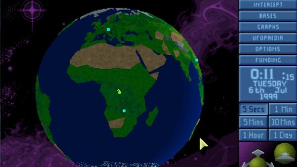 X-COM: UFO Defense (aka UFO: Enemy Unknown)   Geoscape