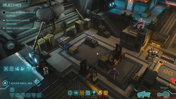 XCOM: Enemy Within | Base defense screenshot 3